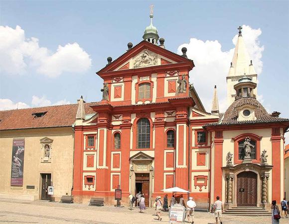 Прага, базилика Святого Георгия