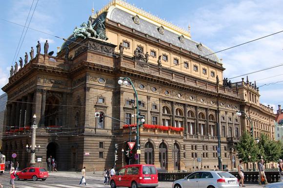 Прага, Национальный театр