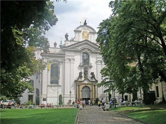 Прага, Страговский монастырь