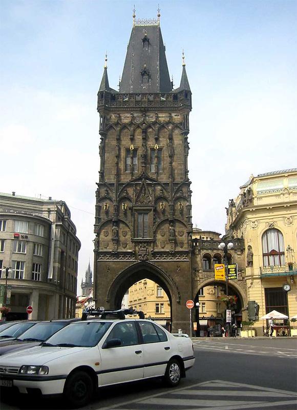 Прага, Пороховая башня