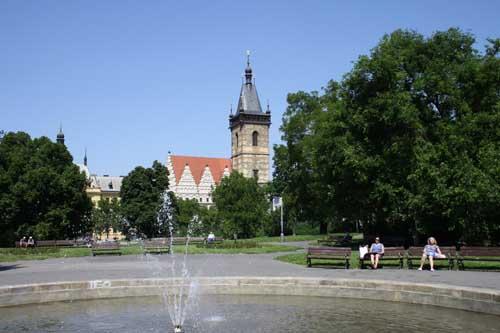 Ратуша на Карловой площади