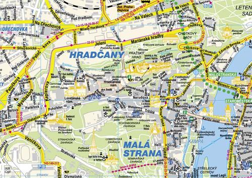 Еще одна карта Праги