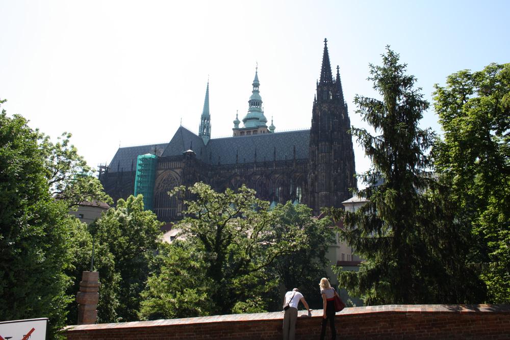 Пражский Град - первый двор - фото 4