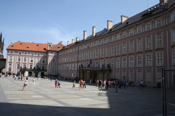 Пражский Град - третий двор - фото 6