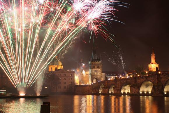 Новый год в Праге 2010