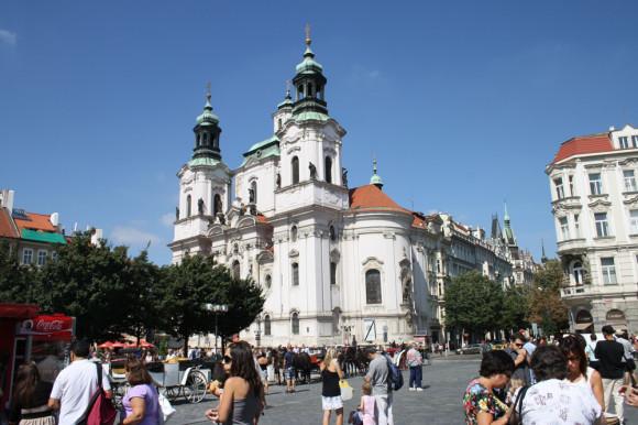 Собор св. Николая на Староместской площади