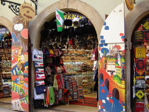 Сувениры из Праги