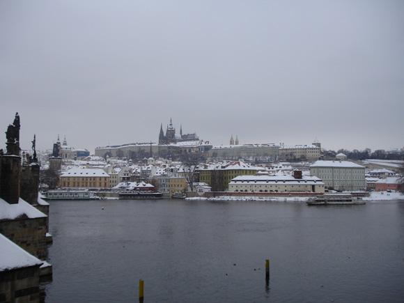 Зимняя Прага - Град