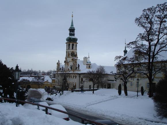 Зимняя Прага - Лорета