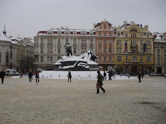 Зимняя Прага - Старомак