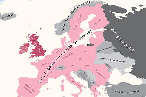 Европа. Взгляд из Англии