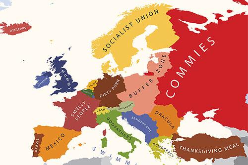 Европа. Взгляд из США
