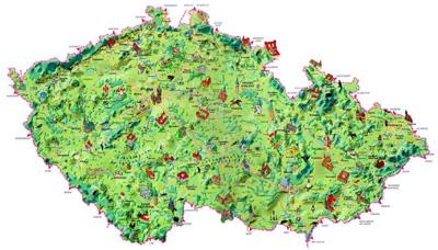 Визуальная карта Чехии