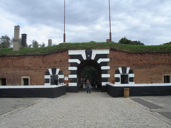 Вход в Малую крепость