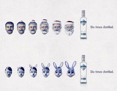Сталин и Гитлер превращаются...