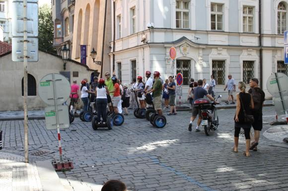 На сегвеях по Праге