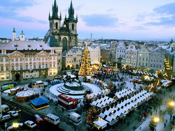 Рождество 2011 в Праге