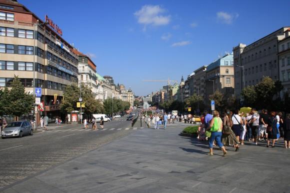 Фото Праги. Вацлавская площадь