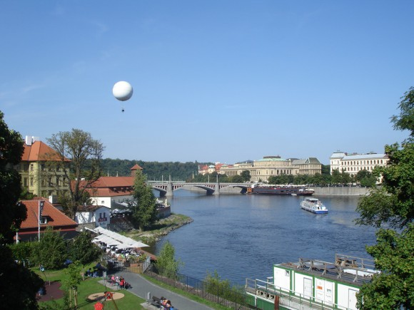 Фото Праги. Панорамный вид на город