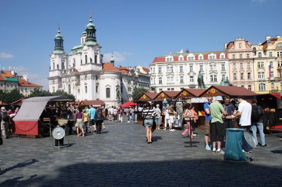 Фото Праги. Костел св. Николая на Староместской площади