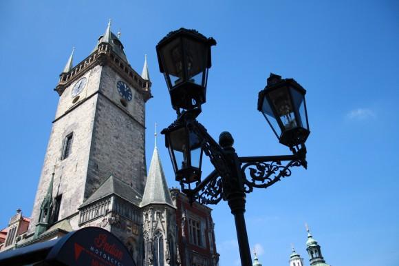 Фото Праги. Башня Староместской ратуши