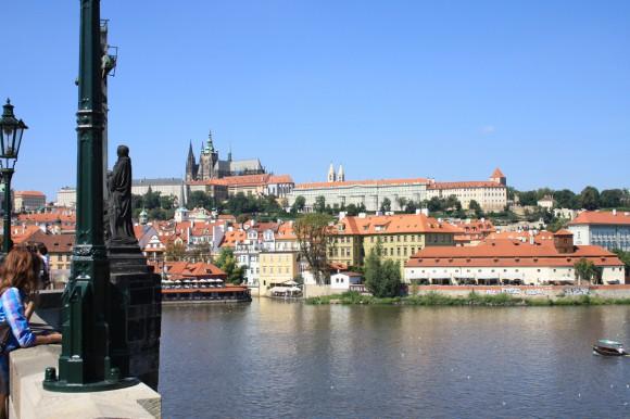 Фото Праги. Вид на Пражский Град
