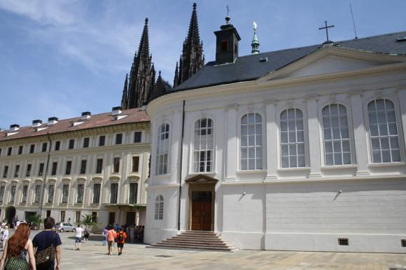 Фото Праги. Второй двор Града