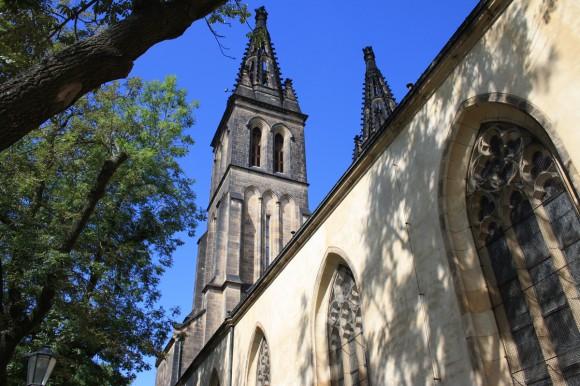 Фото Праги. Костел Петра и Павла