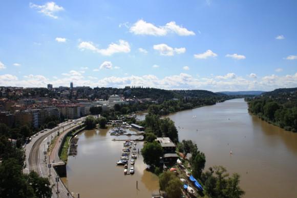 Фото Праги. Панорамный вид с Вышеграда