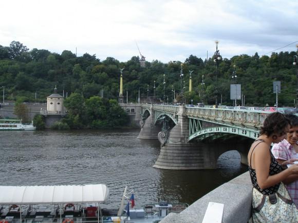 Фото Праги. Чехув мост. Метроном