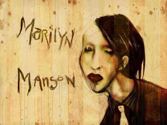 Marilyn Manson в Праге