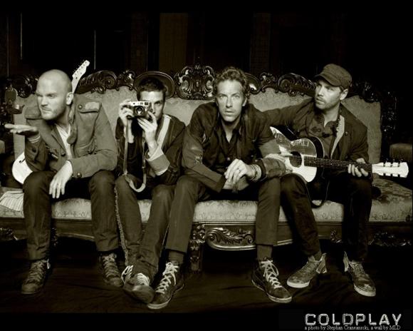 Coldplay в Праге