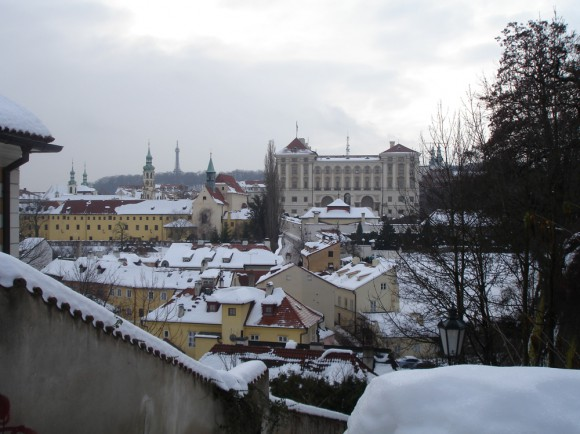 Вид на Лорету и Пражский Град