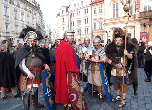 Возможно, вот такие легионеры сделали Мартина святым