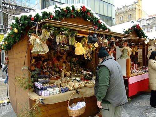 Главные рождественские ярмарки в 2012 году в Праге