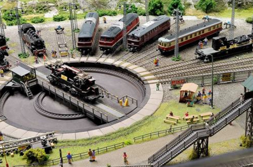 Чехия в миниатюре и Королевство железных дорог