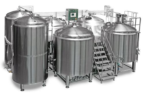 Примерно так выглядит мини-пивоварня