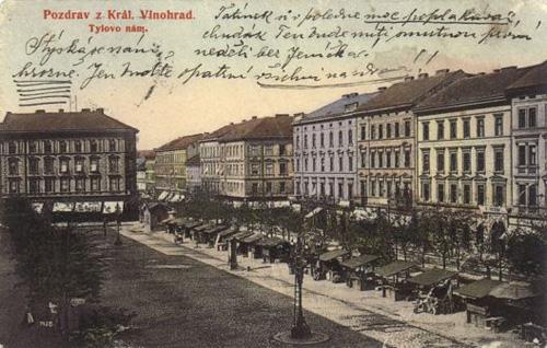 Пражские Винограды в 1922-1968 годах