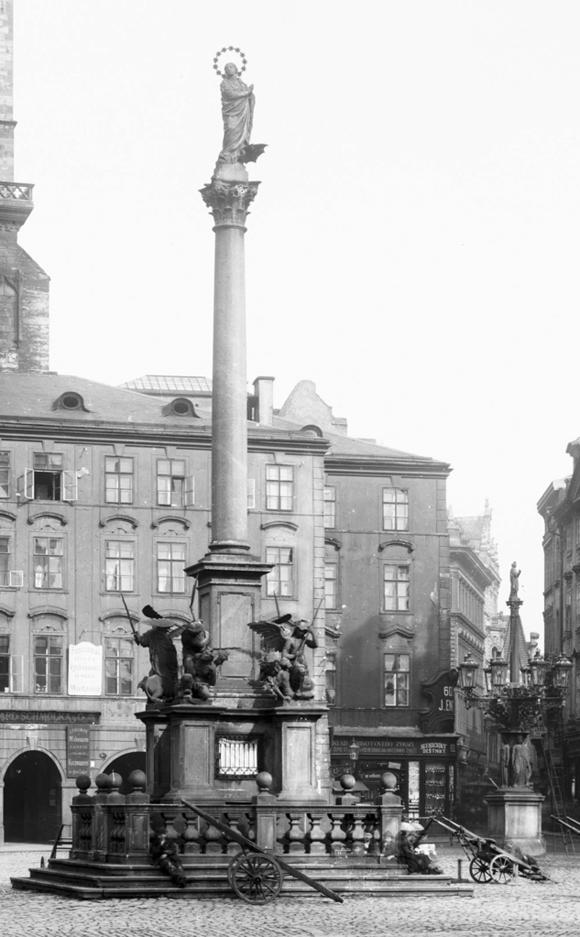 Марианский столб в Праге