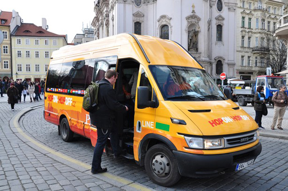 Туристический автобус в Праге HopON-HopOFF