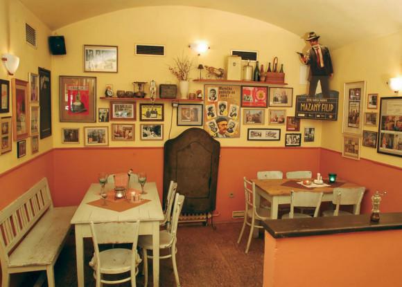 Типичный ресторан для своих