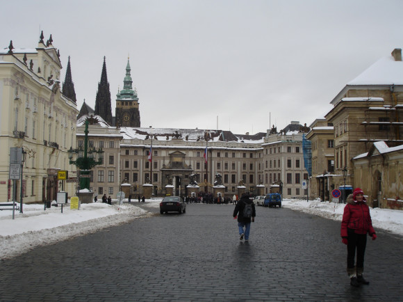 Не забудьте про Пражский Град!