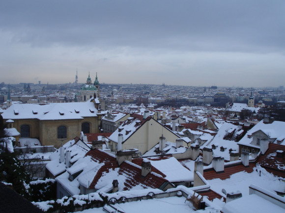 У зимней Праге особое очарование!