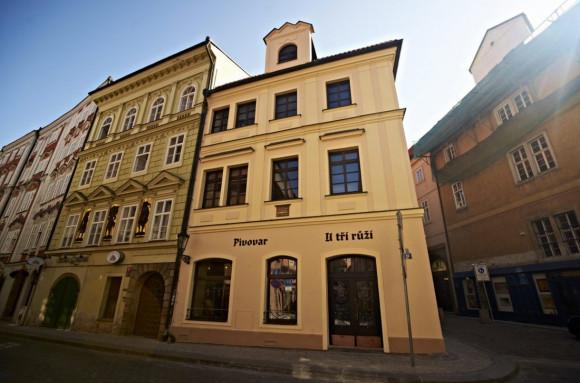 Пивовар находится в историческом здании