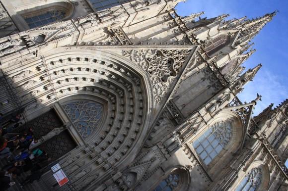 Готический собор Барселоны
