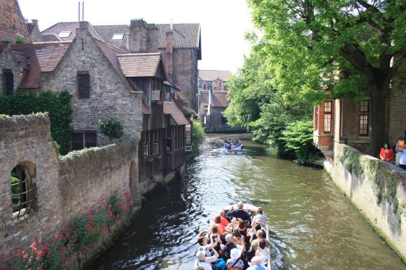 Каналы Брюгге